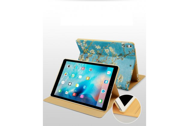 Фирменный необычный чехол для iPad Pro 10.5 тематика Сакура