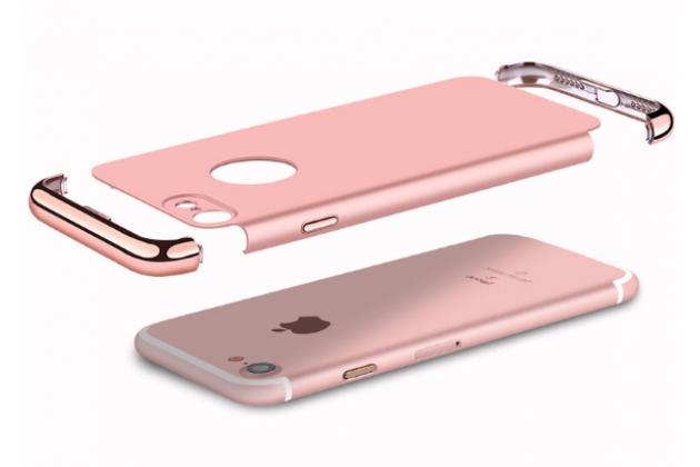 Фирменная ультра-тонкая пластиковая задняя панель-крышка-накладка в металлическом корпусе для iPhone 7 4.7 PRODUCT RED Special Edition красная