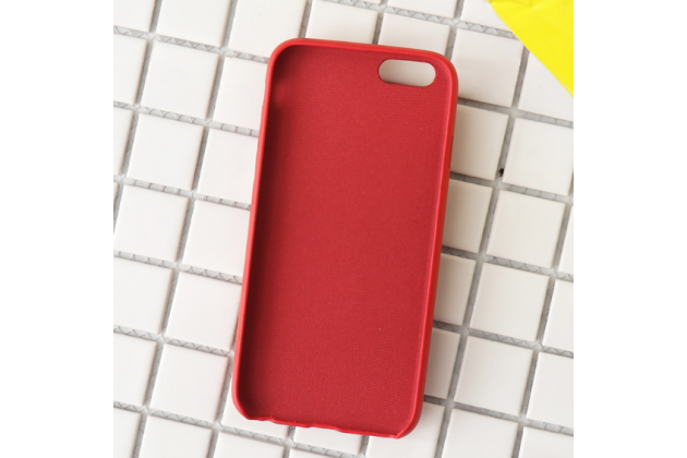 """Фирменная роскошная задняя панель-чехол-накладка  из мягкого силикона с безумно красивым расписным 3D рисунком на iPhone 7 4.7 PRODUCT RED Special Edition тематика """"Улица Сезам"""""""