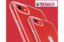 Фирменная ультра-тонкая полимерная из мягкого качественного силикона задняя панель-чехол-накладка для iPhone 7 Plus   5.5 PRODUCT RED Special Edition прозрачная