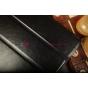 Фирменный чехол-обложка для iPad2/new iPad 3/iPad 4 ультра-тонкий черный кожаный..