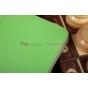 Чехол-сумка для iPad Air 1 с визитницей и держателем для руки зеленый натуральная кожа