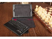 Фирменный чехол со съёмной Bluetooth-клавиатурой для Apple iPad Mini 2 with Retina display/ iPad mini 3 черный..