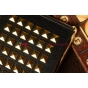 Алюминиевая задняя панель-крышка для iPad mini с металлическими шипами..