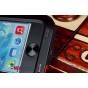 Неубиваемый водостойкий противоударный водонепроницаемый грязестойкий влагозащитный ударопрочный фирменный чехол-бампер для iPhone 5S/SE/ 5SE цельно-металлический со стеклом Gorilla Glass