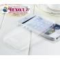 Фирменная ультра-тонкая полимерная из мягкого качественного силикона задняя панель-чехол-накладка для iPhone 5..