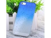 Фирменная из тонкого и лёгкого пластика задняя панель-чехол-накладка для iPhone 5 / 5S/ SE/ 5SE прозрачная с э..