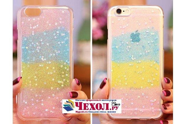 """Фирменная ультра-тонкая полимерная из мягкого качественного силикона задняя панель-чехол-накладка для iPhone 6+ Plus 5.5"""" """"тематика Разноцветное Суфле"""""""