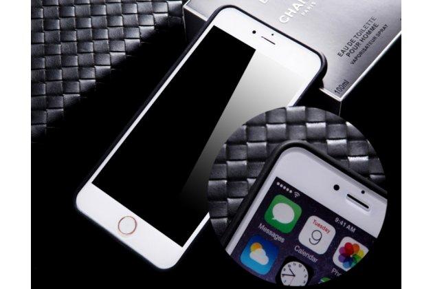 """Фирменная уникальная задняя панель-крышка-накладка из тончайшего силикона для iPhone 6+ Plus 5.5"""" с объёмным 3D рисунком """"тематика Эклектические Узоры"""""""