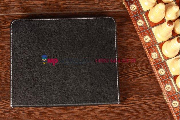Чехол-обложка для Archos 97 Titanium HD черный кожаный