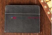 Чехол-обложка для Archos Arnova 90 G4 4Gb черный кожаный