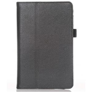 Фирменный чехол-обложка для Asus FonePad ME371MG черный кожаный