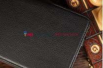 """Чехол для Asus MeMO Pad ME172V черный кожаный """"Deluxe"""""""