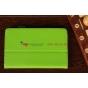Чехол-обложка для Asus MeMo Pad 7.0 ME172V зеленый кожаный
