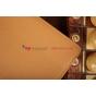 """Фирменный чехол-обложка для Asus Padfone 2 A68 с визитницей и держателем для руки коричневый кожаный """"Prestige"""" Италия"""