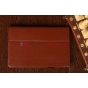 Чехол-обложка для Asus Vivo Tab Smart ME400C/ME400CL коричневый натуральная кожа