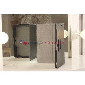 """Чехол-обложка для Asus VivoTab Smart ME400C/ME400CL черный кожаный """"Prestige"""""""