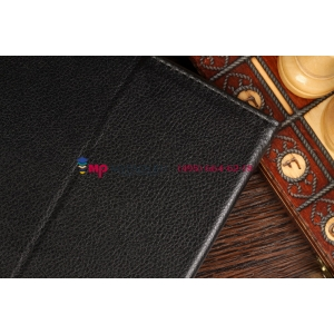 Чехол-обложка для Asus VivoTab TF810C/TF810TG черный кожаный