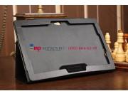 Чехол-обложка для Asus VivoTab TF810C/TF810TG черный кожаный..