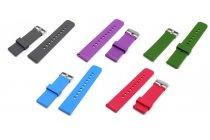 Фирменный необычный сменный силиконовый ремешок для умных смарт-часов ASUS ZenWatch WI500Q 22mm разноцветный + инструменты для вскрытия
