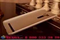"""Фирменная задняя панель-крышка-накладка из тончайшего и прочного пластика для ASUS Zenfone 2 Laser ZE601KL 6.0"""" золотая"""