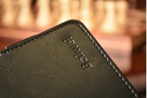 """Фирменный оригинальный вертикальный откидной чехол-флип для  ASUS Zenfone 2 Laser ZE601KL 6.0""""  черный из натуральной кожи """"Prestige"""" Италия"""