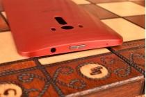"""Родная оригинальная задняя крышка-панель которая шла в комплекте для ASUS Zenfone 2 Laser ZE601KL 6.0"""" Z011D красная"""