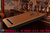 """Фирменная металлическая задняя панель-крышка-накладка из тончайшего облегченного авиационного алюминия для ASUS Zenfone 2 Laser ZE601KL 6.0"""" золотая"""