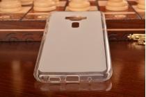 """Фирменная ультра-тонкая силиконовая задняя панель-чехол-накладка для ASUS ZenFone 3 / Zenfone 3 Neo ZE520KL 5.2"""" белая"""