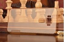 """Фирменная ультра-тонкая силиконовая задняя панель-чехол-накладка с защитой боковых кнопок для ASUS ZenFone 3 / Zenfone 3 Neo ZE520KL 5.2"""" золотая"""