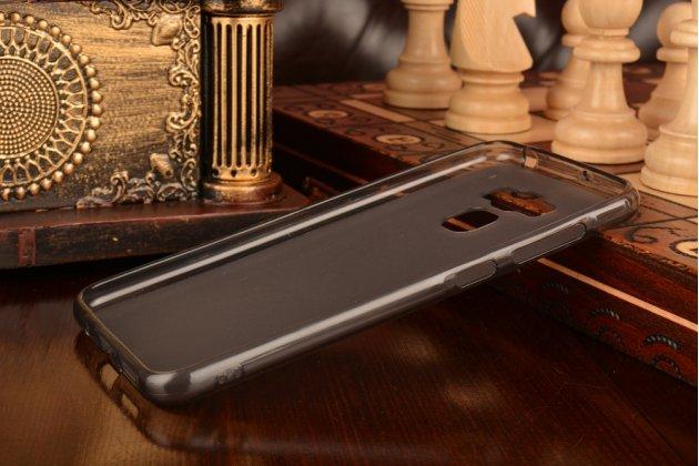"""Фирменная ультра-тонкая полимерная из мягкого качественного силикона задняя панель-чехол-накладка для ASUS ZenFone 3 Max ZC553KL 5.5"""" серая"""