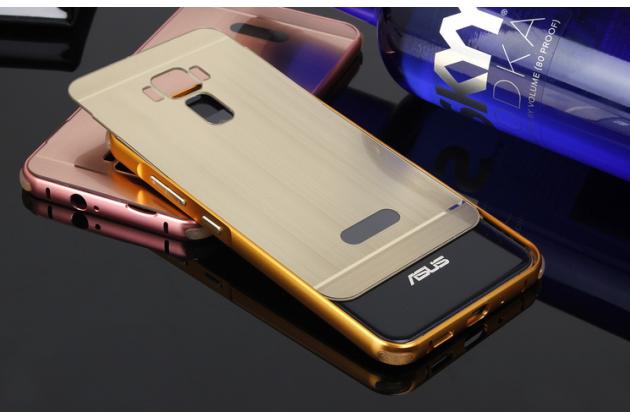 """Фирменная металлическая задняя панель-крышка-накладка из тончайшего облегченного авиационного алюминия для ASUS ZenFone 3 / Zenfone 3 Neo ZE520KL 5.2""""  золотая"""