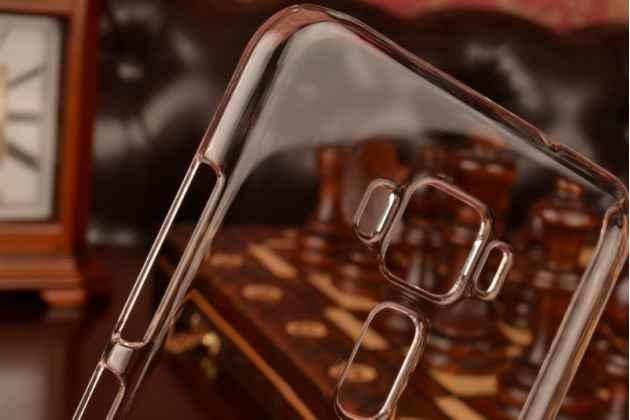 """Фирменная ультра-тонкая пластиковая задняя панель-чехол-накладка для ASUS ZenFone 3 / Zenfone 3 Neo ZE520KL 5.2"""" прозрачная"""