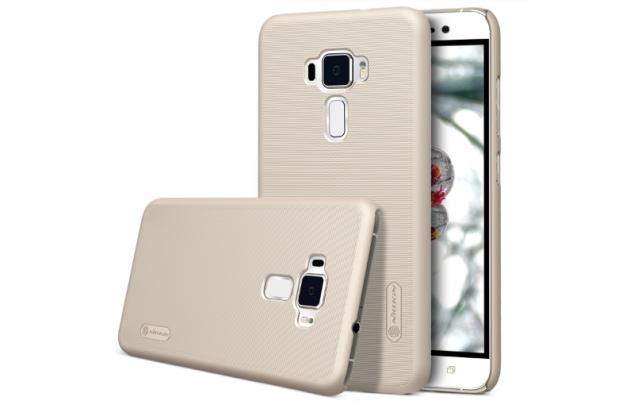 """Фирменная задняя панель-крышка-накладка из тончайшего и прочного пластика для  ASUS ZenFone 3 / Zenfone 3 Neo ZE520KL 5.2""""  золотая"""