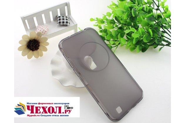 Фирменная ультра-тонкая полимерная из мягкого качественного силикона задняя панель-чехол-накладка для ASUS ZenFone AR ZS571KL серая