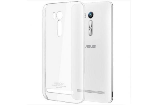 """Фирменная задняя панель-крышка-накладка из тончайшего и прочного пластика для ASUS ZenFone Go ZB551KL  / Go TV ZB551KL 5.5"""" прозрачная"""