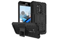 """Противоударный усиленный ударопрочный фирменный чехол-бампер-пенал для ASUS ZenFone Go ZB551KL  / Go TV ZB551KL 5.5"""" черный"""