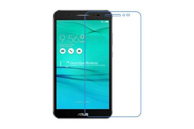 """Фирменное защитное закалённое противоударное стекло премиум-класса из качественного японского материала с олеофобным покрытием для телефона ASUS ZenFone Go ZB690KG 6.9"""""""