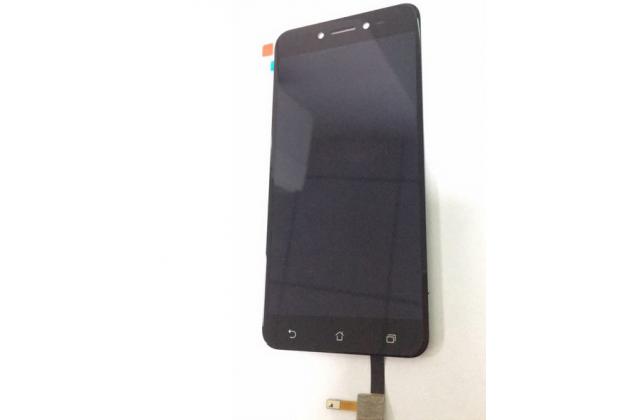 Фирменный LCD-ЖК-сенсорный дисплей-экран-стекло с тачскрином на телефон ASUS ZenFone Live ZB501KL черный + гарантия