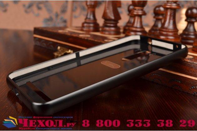 """Фирменная металлическая задняя панель-крышка-накладка из тончайшего облегченного авиационного алюминия для ASUS ZenFone Selfie ZD551KL 5.5""""  черная"""