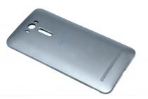 Родная оригинальная задняя крышка-панель которая шла в комплекте для ASUS Zenfone 2 Lazer ZE550KL 5.5 (Z00LD) серая