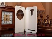Фирменный оригинальный чехол-книжка для ASUS Zenfone 2 Lazer ZE550KL 5.5