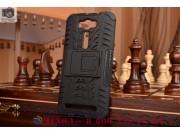 Противоударный усиленный ударопрочный фирменный чехол-бампер-пенал для ASUS Zenfone 2 Lazer ZE500KL 5.0