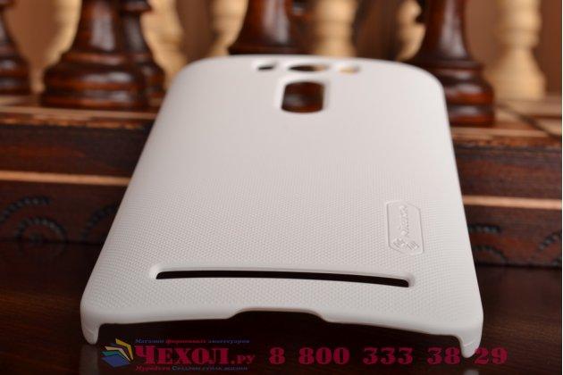 """Фирменная задняя панель-крышка-накладка из тончайшего и прочного пластика для ASUS Zenfone 2 Lazer ZE500KL 5.0"""" белая"""