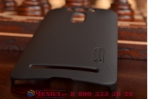 """Фирменная задняя панель-крышка-накладка из тончайшего и прочного пластика для ASUS Zenfone 2 Lazer ZE500KL 5.0""""  черная"""