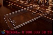 """Фирменная задняя панель-крышка-накладка из тончайшего и прочного пластика для ASUS Zenfone 2 Lazer ZE550KL 5.5"""" прозрачная"""