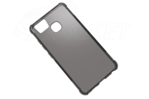 """Фирменная ультра-тонкая полимерная из мягкого качественного силикона задняя панель-чехол-накладка для Asus ZenFone 3 Zoom ZE553KL 5.5"""" серая"""