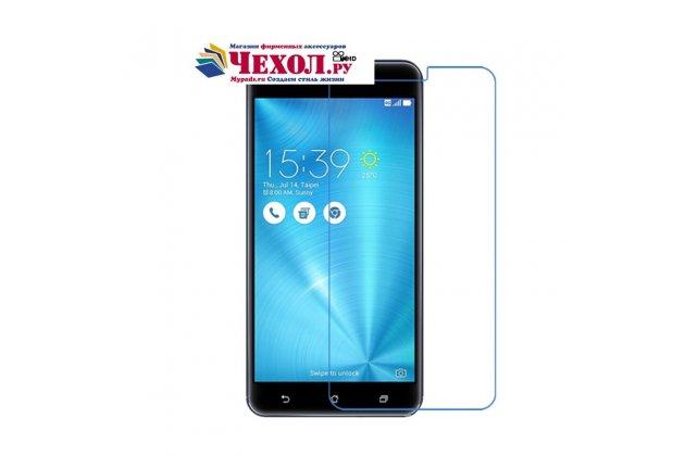 """Фирменное защитное закалённое противоударное стекло премиум-класса из качественного японского материала с олеофобным покрытием для телефона Asus ZenFone 3 Zoom ZE553KL 5.5"""""""
