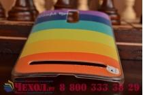 """Фирменная необычная из легчайшего и тончайшего пластика задняя панель-чехол-накладка для Asus Zenfone 2 5.5"""" ZE550/ZE551ML """"тематика Все цвета Радуги"""""""