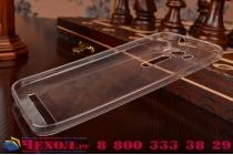 """Фирменная ультра-тонкая полимерная из мягкого качественного силикона задняя панель-чехол-накладка для ASUS Zenfone 2 Lazer ZE500KL 5.0""""  белая"""